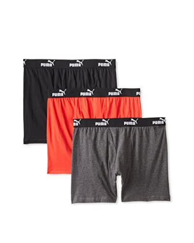 PUMA Men's Boxer Briefs - 3 Pack