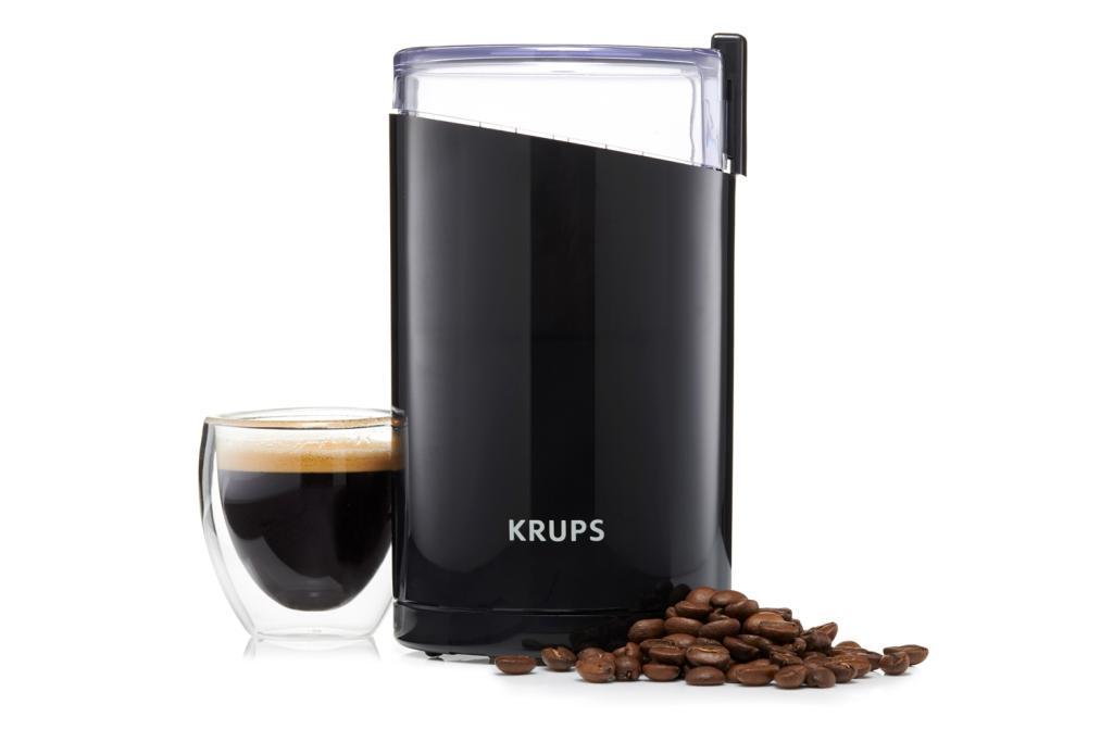 krups f203 electric spice and coffee grinder. Black Bedroom Furniture Sets. Home Design Ideas
