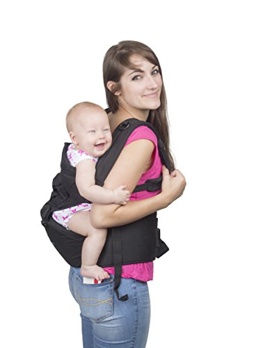 BEST-ERGO-BABY-CARRIER-with-HIP-SEAT-for-Smart-Moms-Top-Performance-Adjustable-Sling-5-Comfortable-Safe-Positions-for-Infant-Toddlers-Perfect-for-Shopping-Amazing-Gift-for-Showers-Christmas