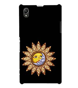 EPICCASE romantic sunflower Mobile Back Case Cover For Sony Xperia Z1 (Designer Case)
