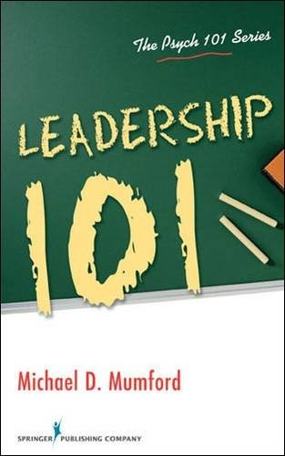 Leadership 101 (The Psych 101 Series)