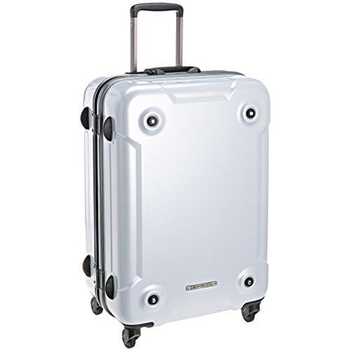 [ヒデオワカマツ] HIDEO WAKAMATSU スタックM TSAロック ヘアラインスーツケース 62.5cm 85-75979 09 (カーボンホワイト)