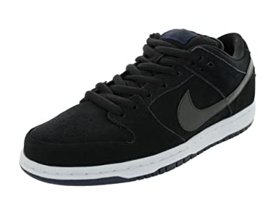 Nike Dunk Low Pro SB Men's Sneakers in Black/Mid Navy/White (304292-025) size 8