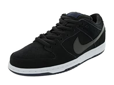 Nike Dunk Low Pro SB Men's Sneakers in Black/Mid Navy/White (304292-025) size 9