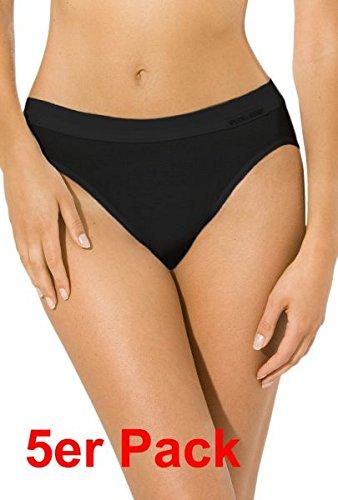 5er-Pack-Jazzpants-Sport-Edition-Slip-Damen-Bio-Baumwolle-Farbe-schwarz-Gren-38-48-von-Betz