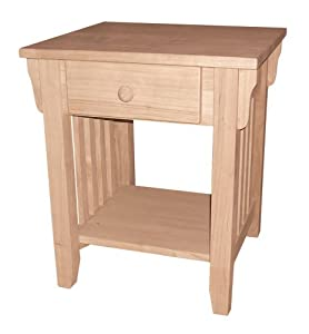Amazon.com - International Concepts OT-61E Mission End Table
