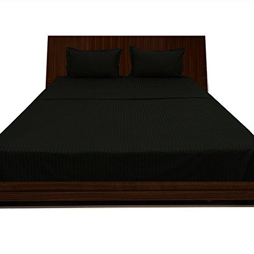 royallinens-600tc-magnifique-4-lit-a-eau-feuille-a-rayures-taille-de-poche-381-cm-coton-rayures-noir