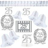 Amscan, Set di decorazioni Nozze d'argento