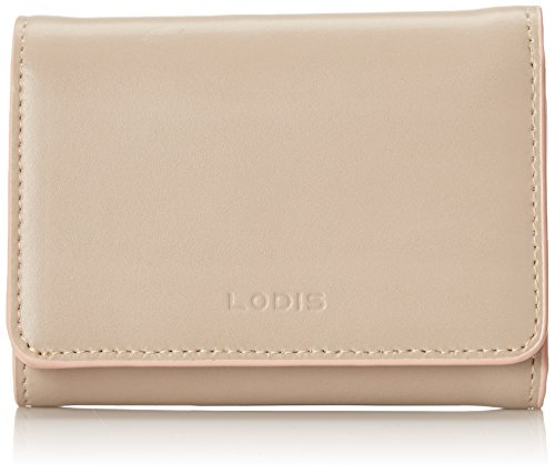 Lodis Audrey Mallory French Purse Wallet, Taupe/Blush, One Size
