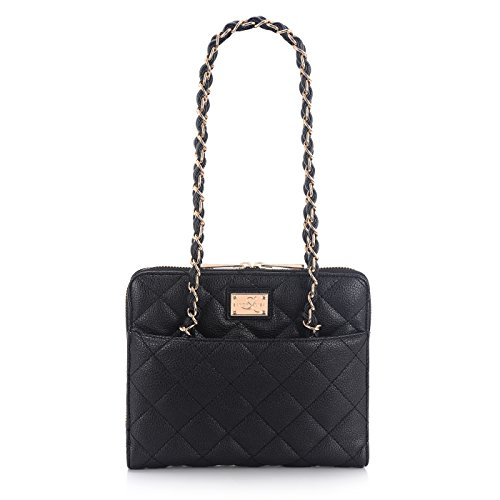 sandy-lisa-st-tropez-quilted-purse-carrying-bag-for-tablet-black-gold