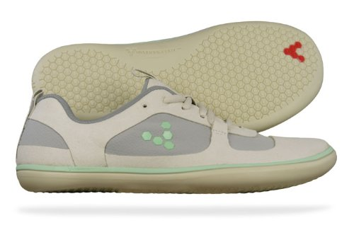 Vivobarefoot Aqua Lite L Womens Running Trainers / Shoes - Off White