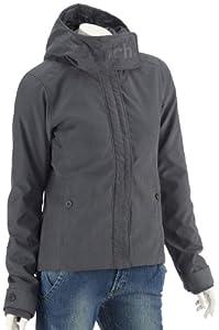 Bench Damen Jacke mit Kapuze SLEDGE JACKET, ebony, L