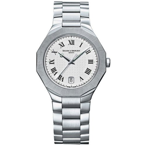 Baume & Mercier Men's MOA8467 Riviera Stainless Steel Watch