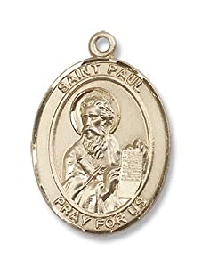 14kt Gold St. Paul the Apostle Medal