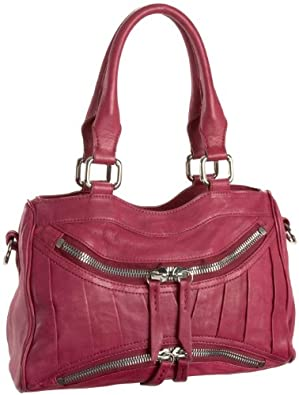 Treesje Asher Mini Satchel,Fuchsia,one size