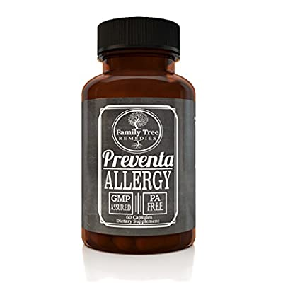 Preventa Allergy- With PA Free Butterbur Root (Petasites) and Guduchi (Tinospora Cordifolia)