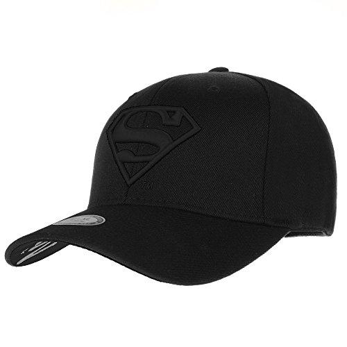 WITHMOONS Cappellini da baseball Cappello Superman VS Batman Shield Embroidery Baseball Cap AC3260 (TwoBlack, L)