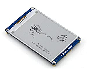 4.3 Inch E-Paper 800x600/4.3 Inch E-Paper Is An E-Book Display Module With Serial Interface Developed