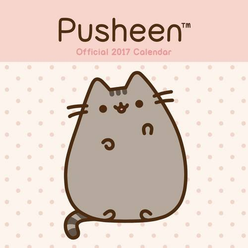 Pusheen Official 2017 Square Wall Calendar