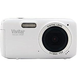 Vivitar 16.1MP Digital Camera with 3-Inch TFT (VS137-WHT-BOX-ESP)