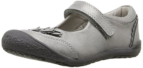 Jumping Jacks Amber Mary Jane,Pewter,30 EU(12 M US Little Kid) (Jack And Jane Shoes compare prices)