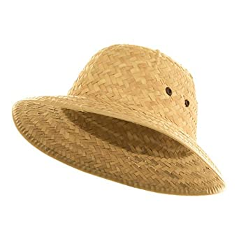 Straw Pith Helmet - Natural