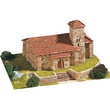 Maquette en céramique - Eglise de Santa Cecilia, Aguilar de Campoo, Espagne
