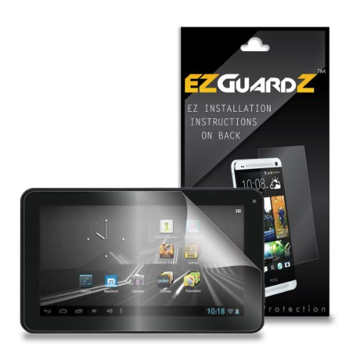 3-Pack EZGuardZ Screen Protectors (Ultra CLEAR) For D2 PAD 9″ INTERNET TABLET D2-912