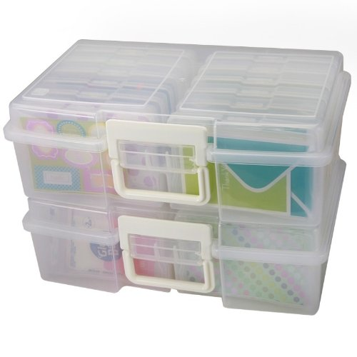 IRIS Large Photo Keeper - Set of 2 (Picture Organizer compare prices)