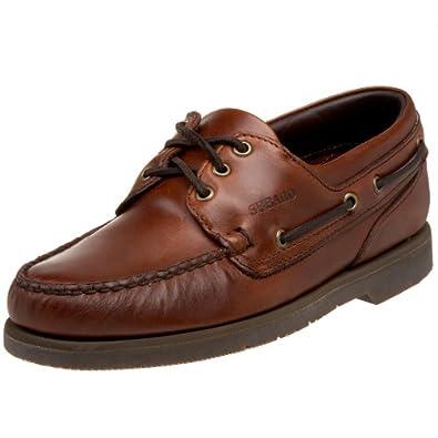 Sebago Men's Cape Horn Boat Shoe,Brown,10.5 WW US