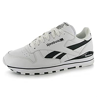 reebok mens classic leather tech trainers