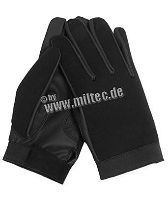 Black Neoprene Assault Gloves (Small)
