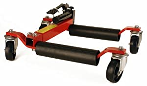 "Hydraulic Car Wheel Dolly Jack Lift Air Tool Shop 1500 lb 12"" Wide w/ 12"" Tires"