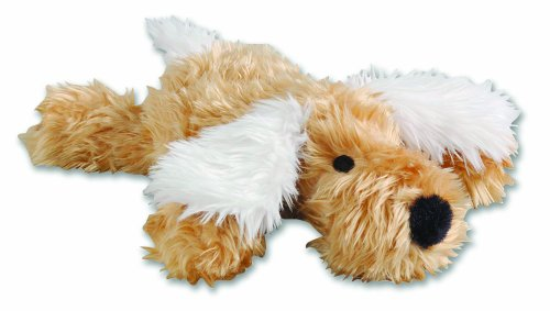 Happy Pet Doggyworth Baby Trevor Dog Toy -Gold