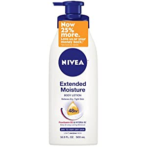 Nivea Extended Moisture Body Lotion, 16.9 oz