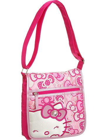 DJ Crossbody Messenger Hello Kitty  Bag