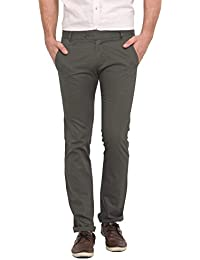 Ennoble Militry Green 2 Ply Chinos