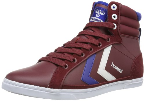 Hummel Unisex - Adult HUMMEL GAME HIGH Low-Top Red Rot (CABERNET 3661) Size: 41