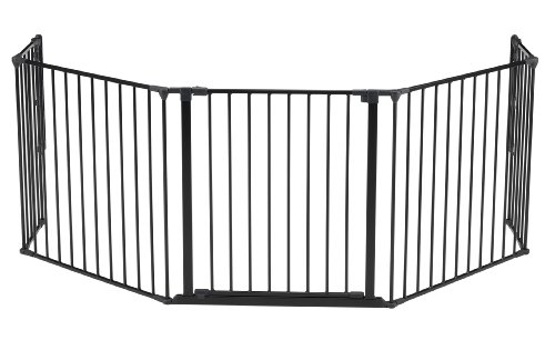 Baby Dan Flex Safety Gates, Black, X-Large - 1