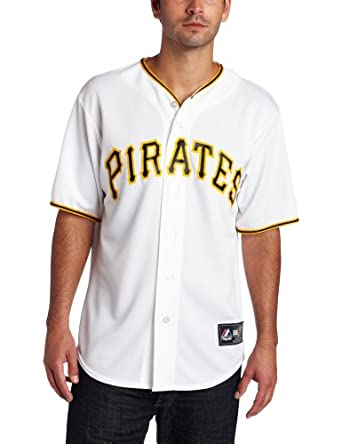 MLB Pittsburgh Pirates Andrew McCutchen White Home Replica Baseball Jersey, White by Majestic