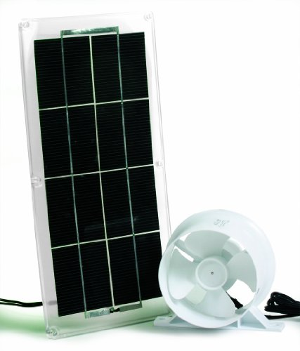Solar Panel Fan : Camco rv solar panel and fan for refrigerator vent