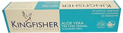 Kingfisher Aloe Vera Tea Tree Fennel Fluoride Free Toothpaste 100ml