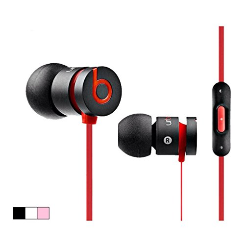 Htc Beats Urbeats In-Ear Headphones With In-Line Mic & Controls - Black/Charcoal (Discontinued Color) (Black)