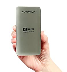 Xuperb Polymer SLIM (POLY-AXIS-100) 10000 mAh Power Bank (Silver)