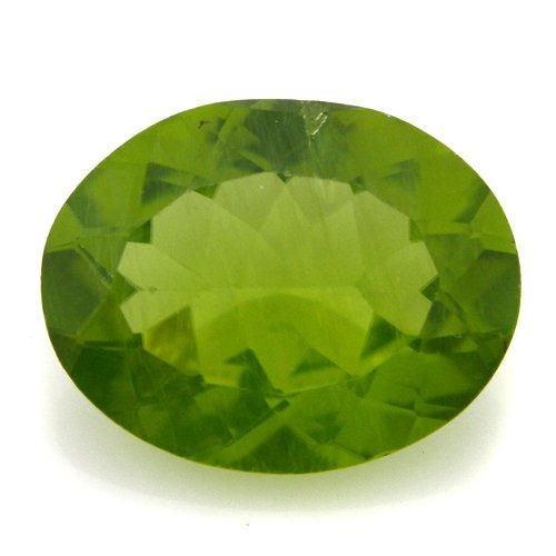 Natural Rare Green Peridot Loose Gemstone Oval Cut 2.25cts 10*7mm Stunning