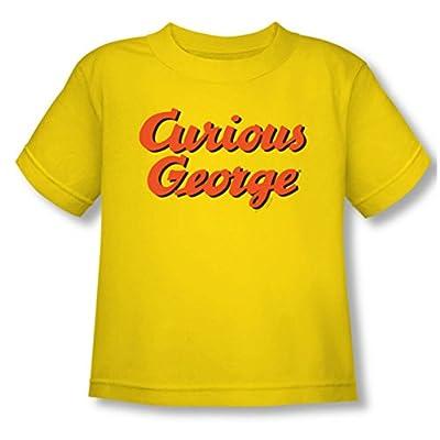 Curious George Logo Toddler T-Shirt