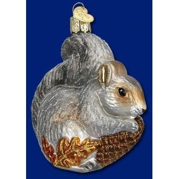 #!Cheap Old World Christmas Hungry Squirrel Ornament
