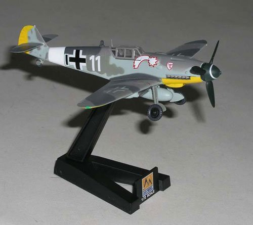 1:72 Messerschmitt Bf-109g-6 Vii. Jg3 Jet 1944 Germany - 1