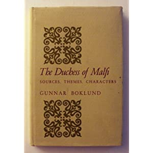 Amazon.com: The Duchess of Malfi: Sources, themes, characters ...