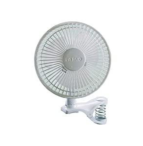 Low Price Lasko #2004W 6-Inch 2-SPEED White Clip Fan